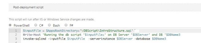 SQLCMD Script